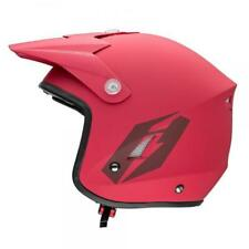 New Jitsie Matt Red Trials Helmet (All Sizes) Beta Gasgas Montesa 4T TXT REV3