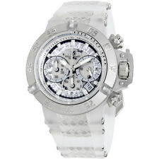 Invicta Subaqua Noma III Chronograph White Dial Ladies Watch 24372
