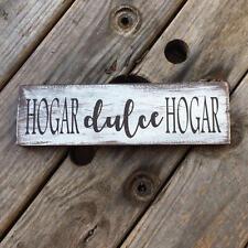 Hispanic wall art. Hogar dulce hogar. Spanish home sweet home. Mexican decor