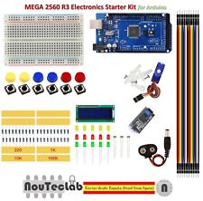 Starter Kit MEGA 2560 R3 Breadboard LED LCD SG90 Jumper Wire Button for Arduino