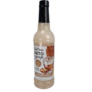 Jordans Skinny Syrups Mocha or Hazelnut Flavoring  Keto Friendly 0 Carbs Sugar