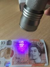 21 LED UV Torch Counterfeit Fake Bank  Money Detector FREE BATTERIES
