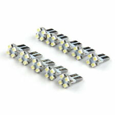 10x White 4SMD 1210 T10 Car Vehicle Interior Reading Lamp Dome Door Light Bulbs