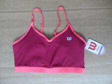 Womens Wilson Cami Tennis Sports Bra Size Medium M NEW