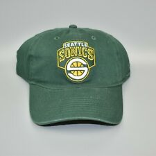 Seattle Sonics Supersonics Reebok NBA Relaxed Fit Dad Cap Hat - Size: Large