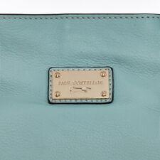 new designer Paul Costelloe logo'd aqua blue tote lined BAG handbag £275 bnwt