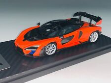 1/43 TSM McLaren Senna Edition in Mira Orange 2018  Dealer Edition
