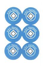 Hamburger SV Aufkleber Sticker 6 Logos Bundesliga Fussball HSV Hamburg #594