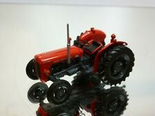 UNIVERSAL HOBBIES MASSEY FERGUSON 35X TRACTOR - RED 1:43 - VERY GOOD CONDITION