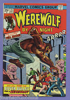 Werewolf By Night #23 1974 Doug Moench Don Peril Marvel m