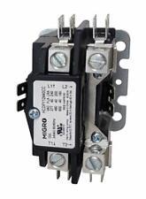 Migro 40Amp 1 Pole NEMA 600V 24V Coil HVAC Heavy Duty Definite Purpose Contactor