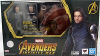 Marvel Avengers Infinity War BUCKY Action Figure S.H.Figuarts Bandai Tamashii