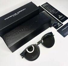 New Porsche Design P'8644 Sunglasses Brown/Gold Stainless Steel