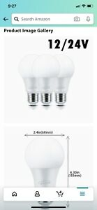 Cesspon 3 Pack Led A19 9 W Light Bulbs. New