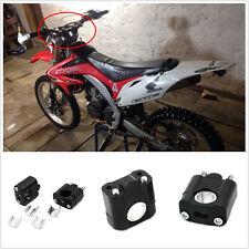 """7/8"""" 1 1/8"""" Handle Bar Protaper Fat Bar Risers Mount Clamp Motorcycle Bike ATVs"""
