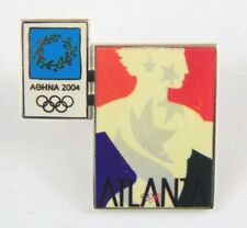 Athens Olympic Games 2004 Pin Badge - Official Poster Pin - Atlanta