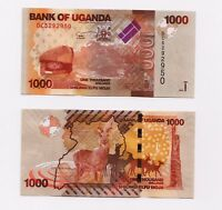 Uganda 1000 (1,000) Banknote Shillings, 2017, P-49, UNC
