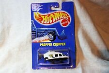 Vintage Hot Wheels 0492 Propper Chopper on Original Card