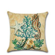 Creative Ocean Style Cotton Cushion Bedroom Coffee Shop Home Decor 45cm*45cm