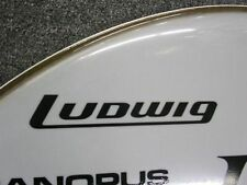 Ludwig Early 70's Replica Vintage Logo Sticker/Decal (Hi Quality 3M Vinyl!)