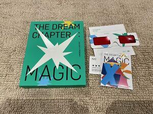 TXT - The Dream Chapter: Magic - Sanctuary version Album + sticker set + glasses