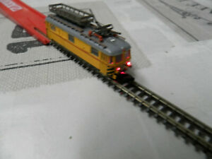 hand made- locomotive for contact network repair size- z- 1/220