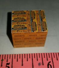 1/64 custom farm toy Pallet of yellow quikrete concrete bags s scale ertl dcp