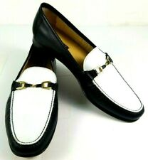 Artioli Mens Shoes Size 13 D Star Made in Italy Slip On Black & White Leather