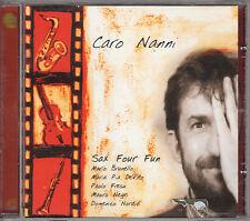 SAX FOR FUN caro nanni (moretti) CD 2002 Maria Pia De Vito Paolo Fresu jazz