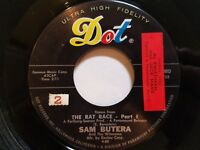 """SAM BUTERA & The Witnesses - Theme From The Rat Race 1960 JAZZ LOUNGE SOUL 7"""""""
