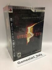 RESIDENT EVIL 5 COLLECTOR'S EDITION (SONY PS3) NUOVO NEW SEALED VERY RARE