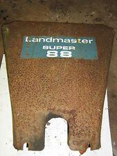 Landmaster L88 rotovator front shield