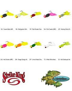 Strike King Mr Crappie Thunder Sausage Jigheads 1/16oz (MRCSH116) Any 10 Colors