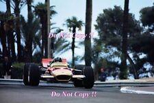 Graham Hill Gold Leaf Team Lotus 49B Winner Monaco Grand Prix 1969 Photograph 10