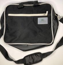 Vintage Lacoste Laptop Messenger Bag School Bag Bookbag College Bag aa62