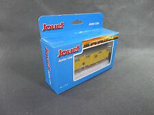 WAGON COUVERT BESTIAUX JOUEF  TRAIN ELECTRIQUE boite non correspondante