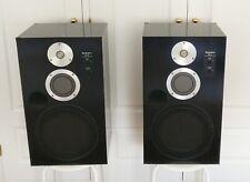 2 Technics 3 way speakers SB-6 honeycomb speaker system Japan altavoces bafles