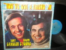 "Tony Sandler & Ralph ""You Gotta Friend"" LP in shrink"