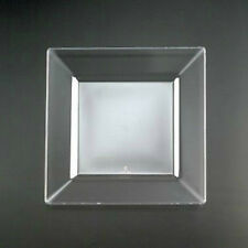 """120 SQUARE PLASTIC 6 1/2"""" CLEAR DESSERT PLATES PARTY WEDDING Plate BY EMI-YOSHI"""