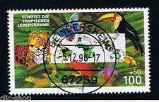 GERMANIA 1 FRANCOBOLLO ZONA TROPICALE 1996 usato