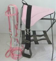MINIATURE HORSE / SM PONY BAREBACK SADDLE PAD  SET