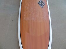 Used 7'8 Mini Longboard - Woody/Epoxy - Paragon Surfboards