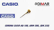 CASIO CORONA/ WATCH CROWN, PARA MODELOS. AQ-100, ARW-300, (QW.358), -GOLD TONE-