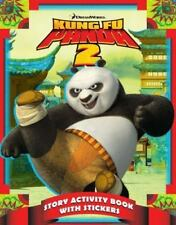 Story Activity Book with Stickers (Kung Fu Panda 2)-ExLibrary