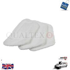 X 3 Microfibre Steam Mop Pads For Morphy Richards 720020 & 720022