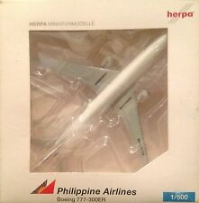 BOEING 777-300ER PHILIPPINE AIRLINES - scala 1/500 HERPA (506818)
