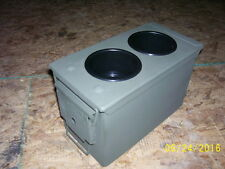 military truck AMMO CAN CUP HOLDER & STORAGE