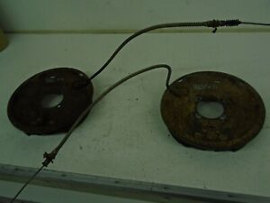 GM 14-bolt differential backing plate and brake parts drivers side & pass #79