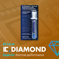 IC Diamond Thermal Compound (24 Carat Electronics Grade)