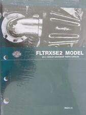 2013 Harley FLTRXSE2 CVO Road Glide Custom Part Parts Catalog Manual 99431-13